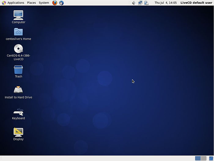 CentOS Screenshot