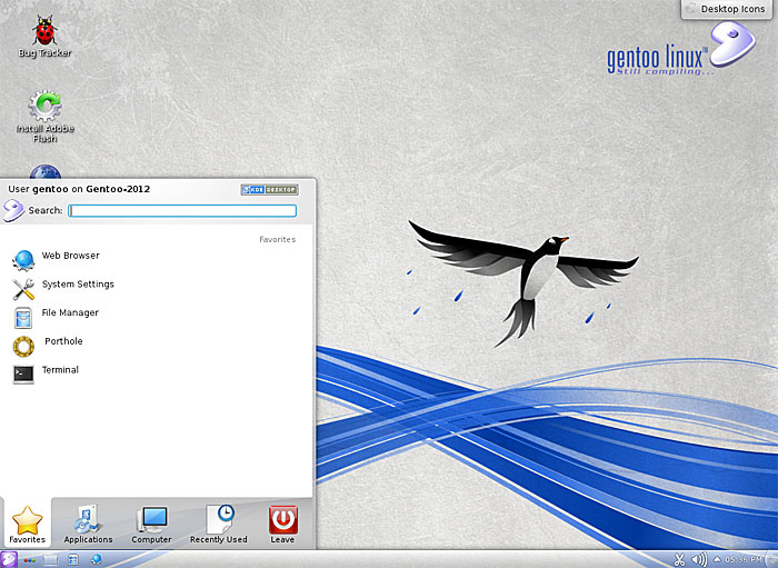 Gentoo Screenshot